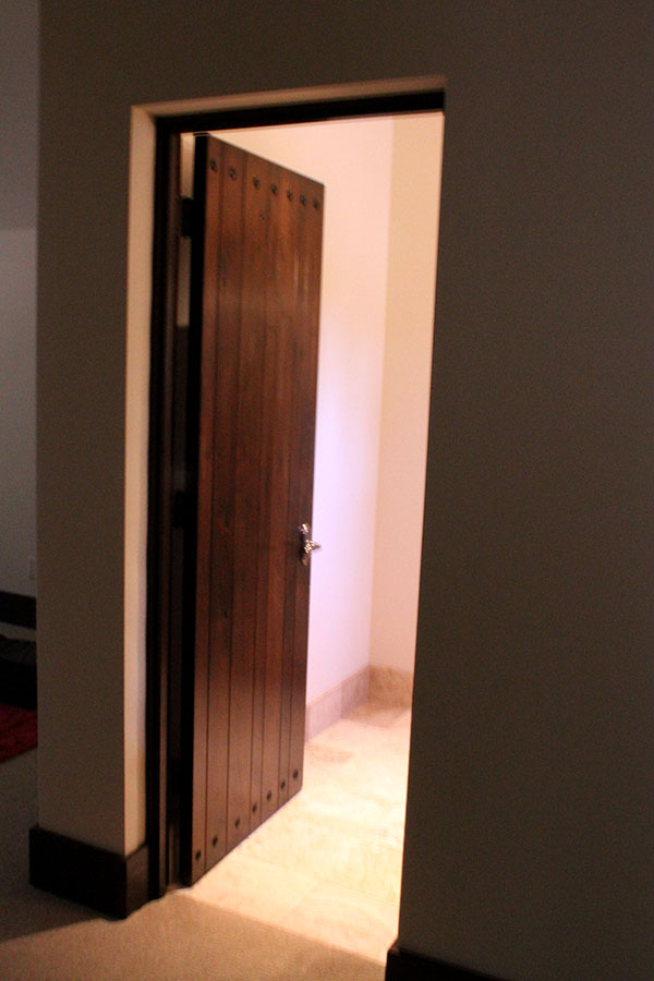 Plank Panel Interior Custom Door