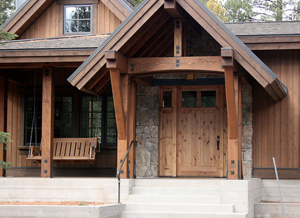 Rustic Exterior Custom Door