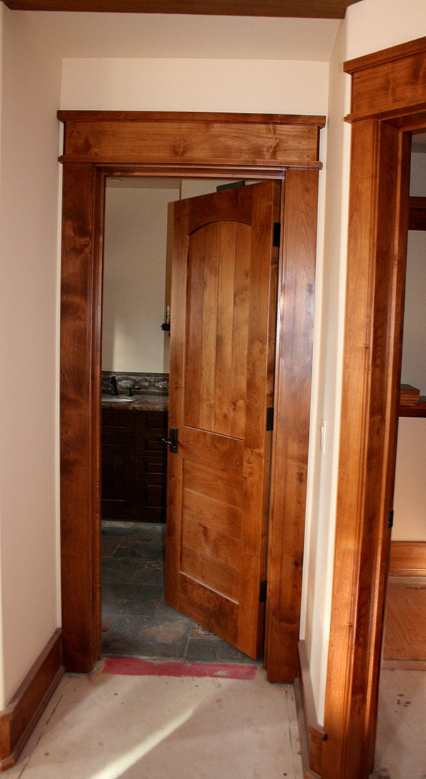 Rustic Interior Custom Door