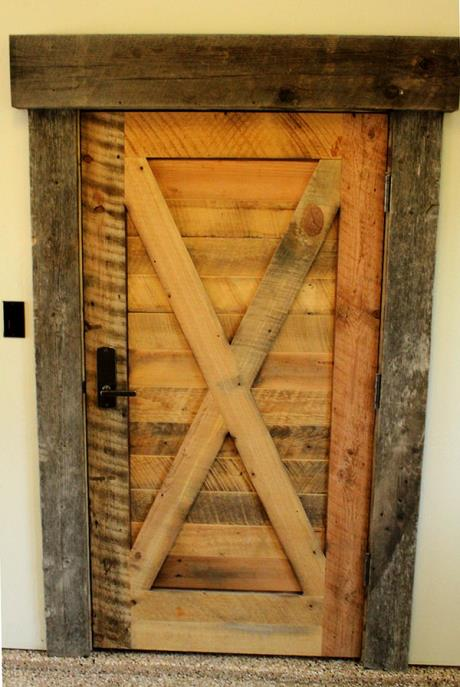 Barnwood and Reclaimed Custom Door