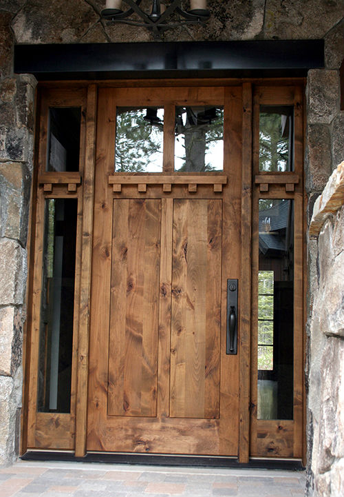 Rustic Doors High Sierra Custom Door